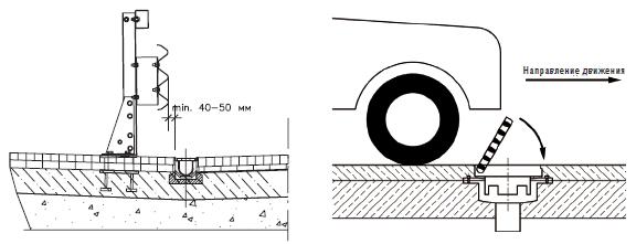Монтаж трапов для мостовых конструкций